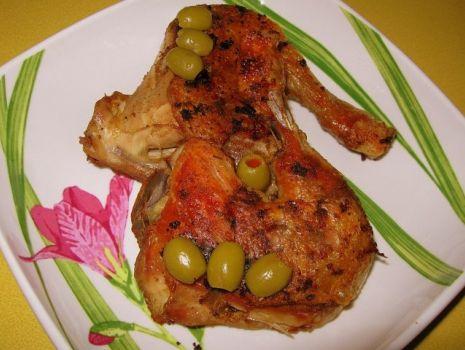 Przepis: Udka z kurczaka przyprawiane podskórnie