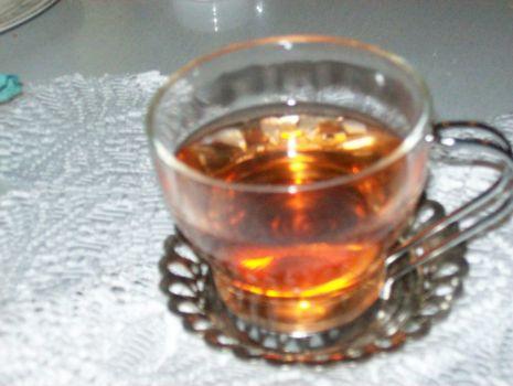 Przepis: Herbata z rumem