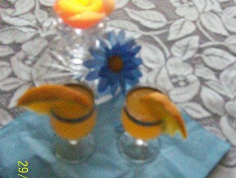 Przepis: Nalewka z pomarańczy - pomarańczowa gorzka