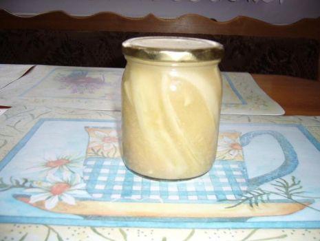 Przepis: Ogórki w musztardzie a'la Kinia