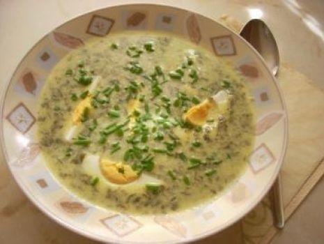 Przepis: Zupa szczawiowa Pyzy