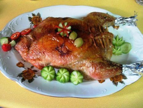 Przepis: Kurczak w plastry