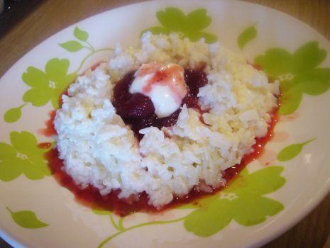 Przepis: Najlepszy ryż na mleku z owocami