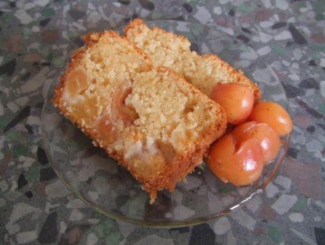 Przepis: Ciasto z czereśniami