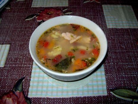 Przepis: Zupa rybna