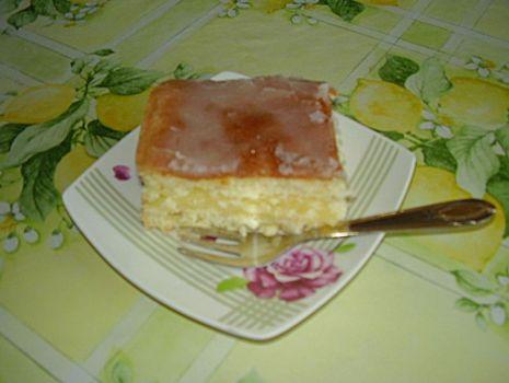 Przepis: Ciasto cytrynowe