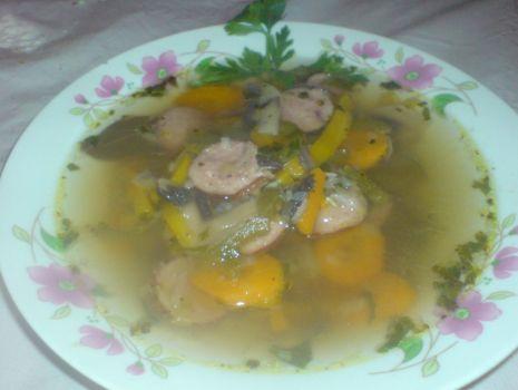 Przepis: Dietetyczna zupa o smaku leczo