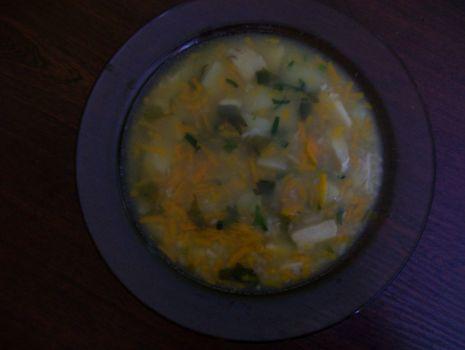 Przepis: Zupa z dorsza i kaszą jęczmienną