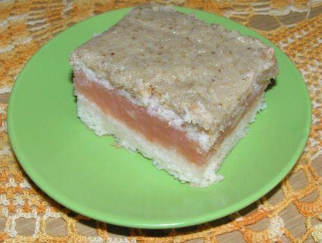 Przepis: Ciasto jabłkowo-orzechowe