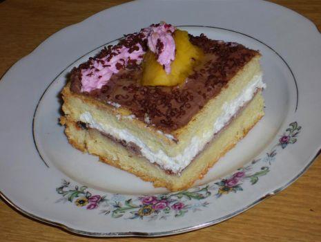 Przepis: Szybkie ciasto a la tortowe
