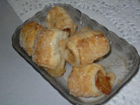 Przepis: Ciasteczka francuskie z jabłkiem