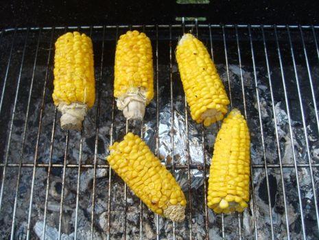 Przepis: Grilowana kukurydza
