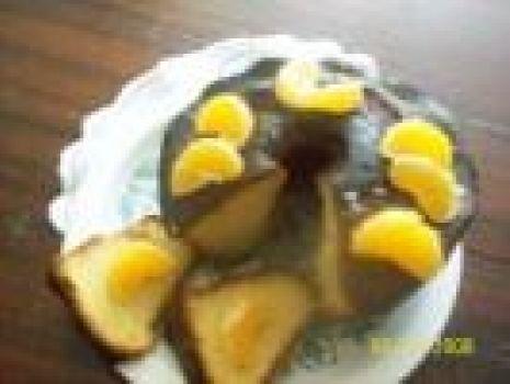 Przepis: Piaskowa babka z pomarańczami