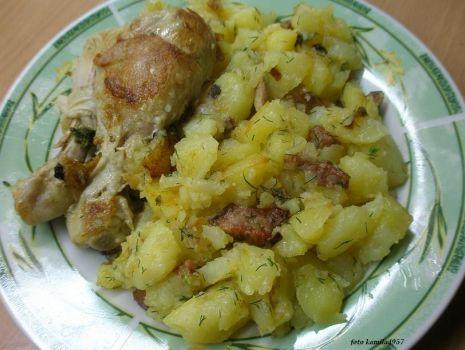 Przepis: ziemniaki odsmażane