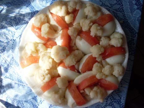 Przepis: sałatka kalafiorowa