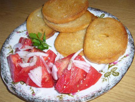Przepis: Chleb z patelni z solą najlepszy