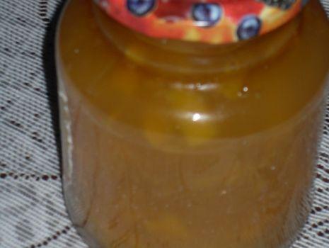 Przepis: Konfitura brzoskwiniowa z cytryną