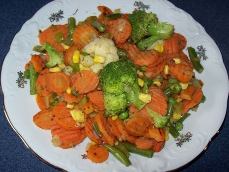 Przepis: warzywa z patelni dla dbających o linię