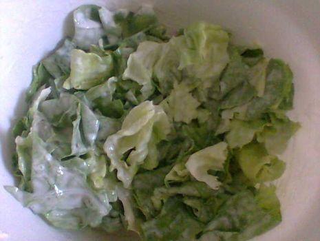 Przepis: Salata ze smietana