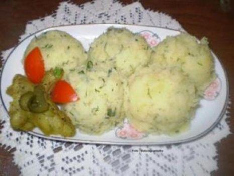 Przepis: Ziemniaki puree najprostsze wg Babcigramolki :