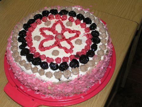 Przepis: Tort wiśniowo-czekoladowy