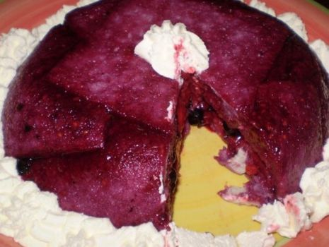 Przepis: Wiosenny pudding :
