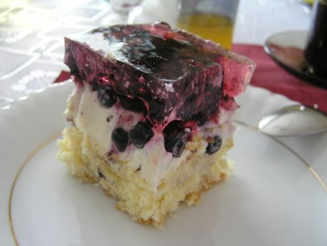 Przepis: Ciasto z jagodami