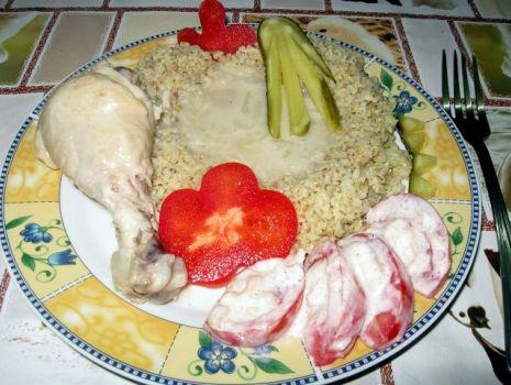 Przepis: Pałki z kurczaka w delikatnym sosie