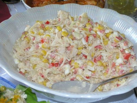 Salatka Z Selerem Konserwowym Przepis Na Salatka Z Selerem