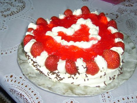"""Przepis: Tort """"Amore"""""""