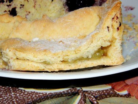 Przepis: Ciasto kruche z rabarbarem