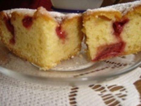 Przepis: Ciasto z owocami