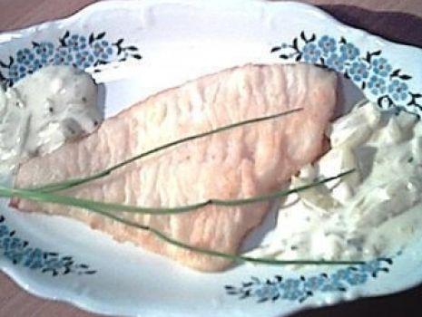 Przepis: Sola w sosie carskim