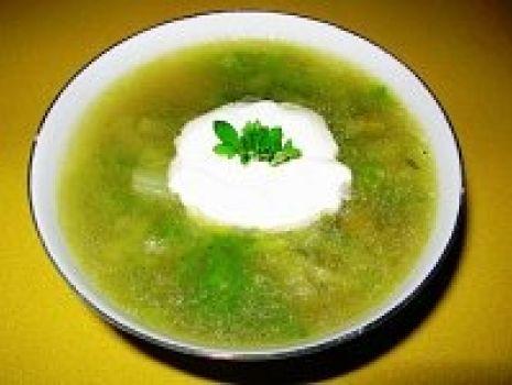 Przepis: Letnia zielona lekka zupa