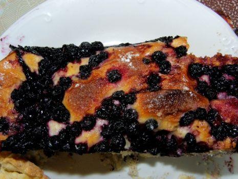 Przepis: Ciasto drożdzowe z jagodami