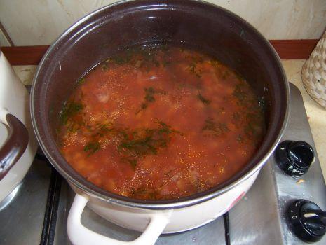 Przepis: zupa pomidorowa z zacierką