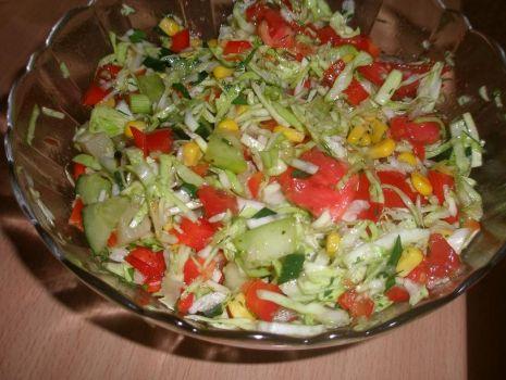 Przepis: sałatka do obiadu