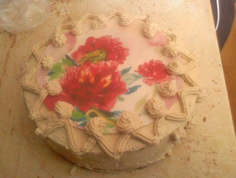 Przepis: Tort chałwowy