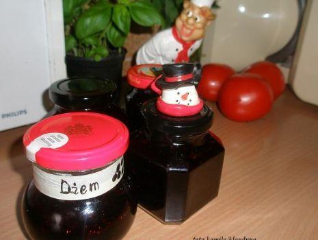 Przepis: dżem jagodowy