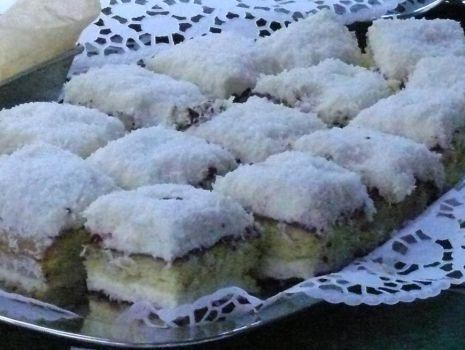 Przepis: Ciasto śnieżynka-moja ulubiona