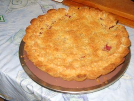 Przepis: Kruche ciasto z truskawkami (lub innymi owocami)