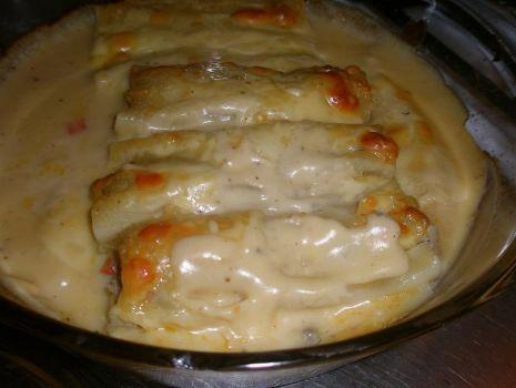 Przepis: Cannelloni zapiekane