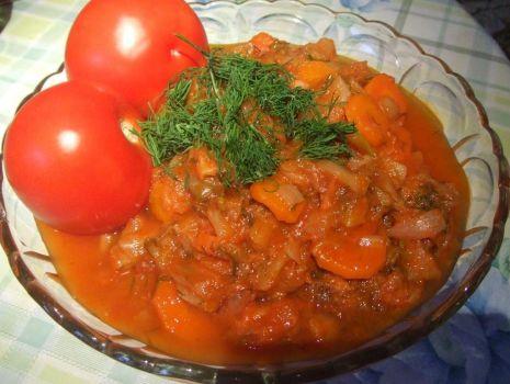Przepis: Pomidorowa kapustka