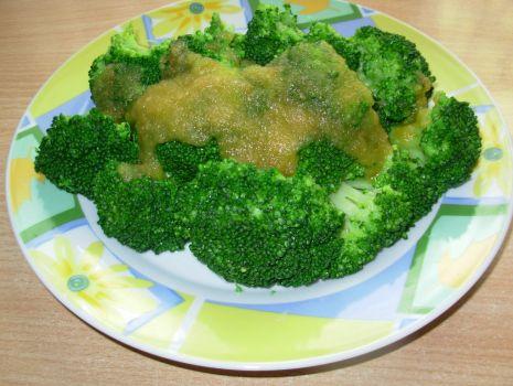 Przepis: Brokuły z wody
