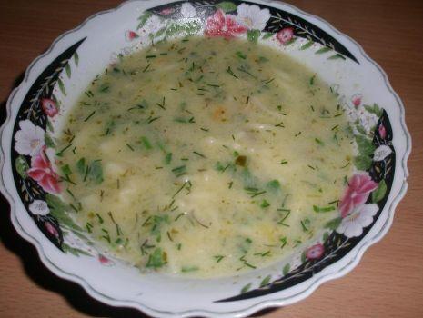 Przepis: zupa ogórkowa z makaronem