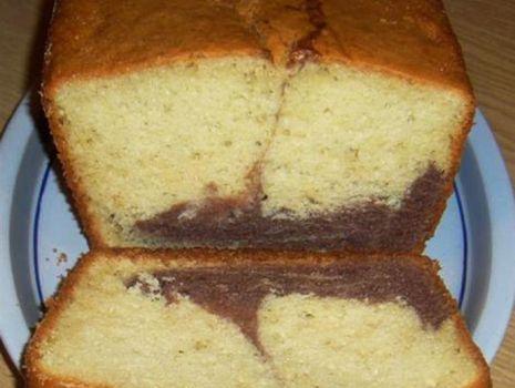 Przepis: Ciasto zwykłe  łaciate