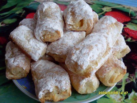 Przepis: Francuskie ciasteczka z owocami