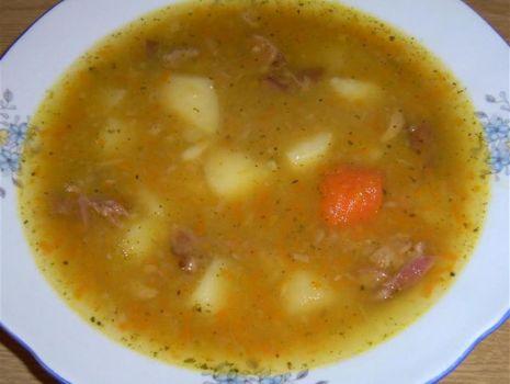 Przepis: Zupa grochowa mojej mamy