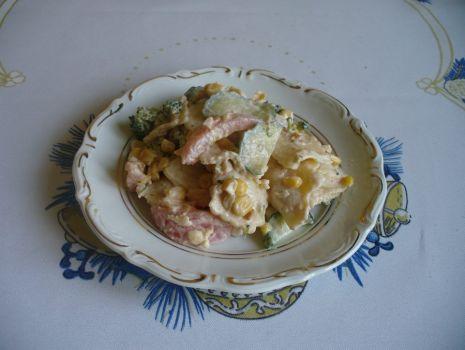Przepis: Sałatka z tortellini