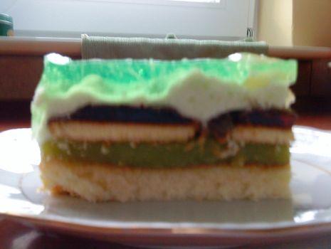 Przepis: Ciasto z delicjami